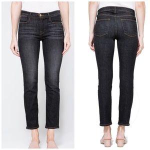 Frame Denim le high straight Hudson yards jeans 28